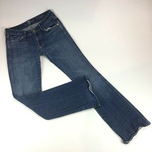 "7 For All Mankind Bootcut ""A"" Pocket Womens Jeans"